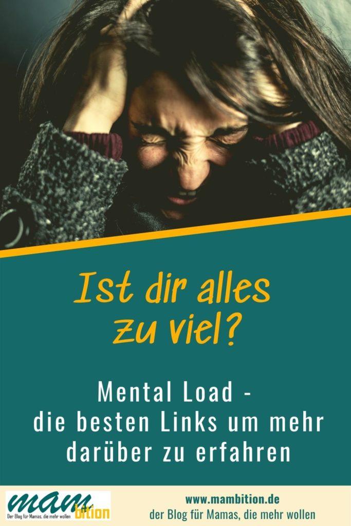 Was ist eigentlich Mental Load? Und was kann man dagegen tun? Die besten Links zum Thema findest du hier.  #Mentalload #Lebenmitkindern #familie  #vereinbarkeit #gleichberechtigung